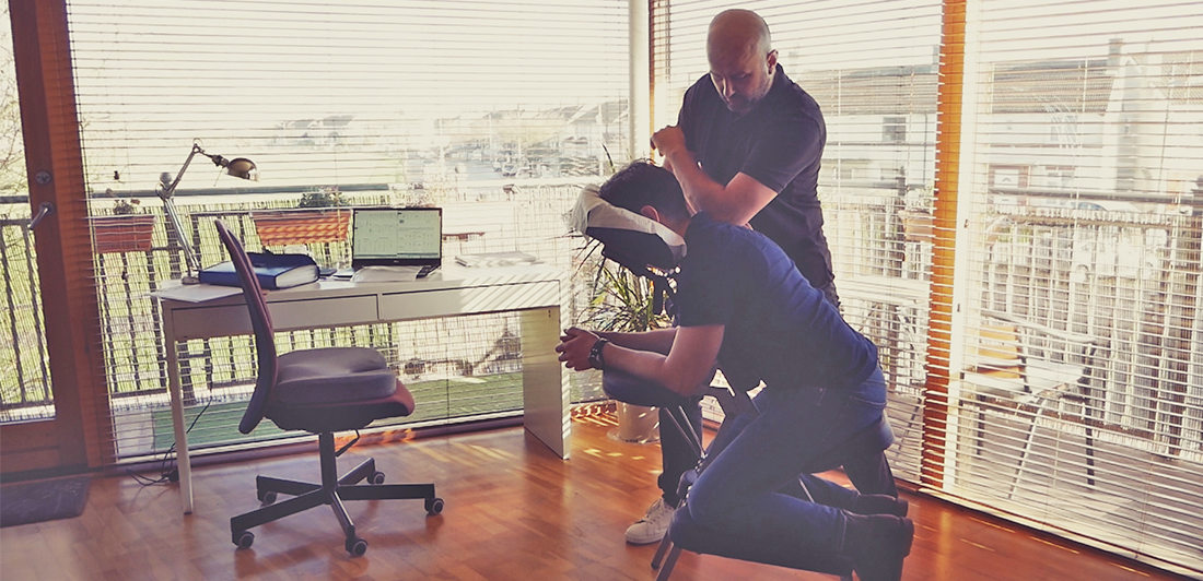 Benefits of MYSA's Corporate Massage
